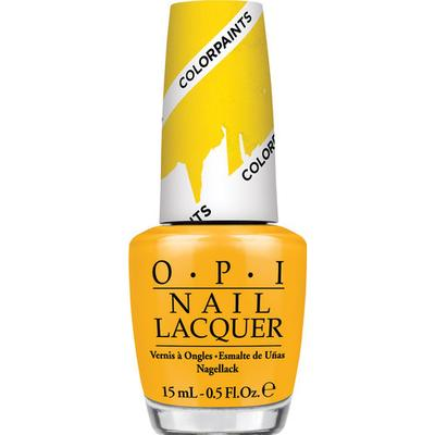 OPI Nail Lacquer Primarily Yellow 15ml