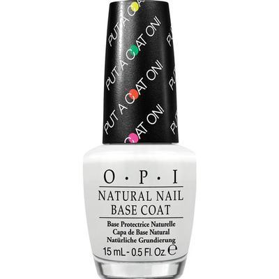 OPI Natural Nail Base Coat Put A Coat On! 15ml