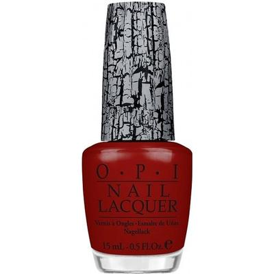 OPI Nail Lacquer Red Shatter 15ml