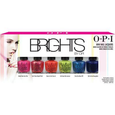 OPI Nail Lacquer Brights 2015 Mini Pack
