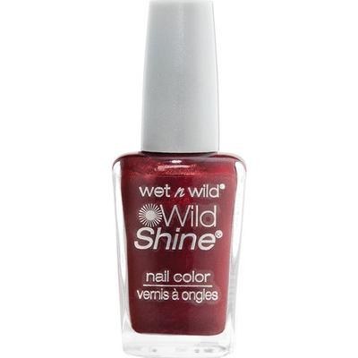 Wet N Wild Shine Nail Colour Burgundy Frost 13.5ml