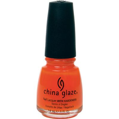 China Glaze Nail Lacquer Orange Knockout 14ml