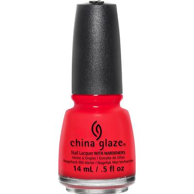 China Glaze Nail Lacquer The Heat Is on 14ml