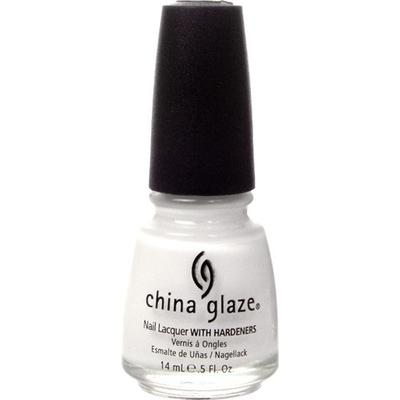 China Glaze Nail Lacquer White on White 14ml