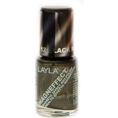 Layla Cosmetics Magn Effect 12 Black Metal 10ml