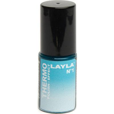 Layla Cosmetics Thermo Polish Effect N.1 Dark to Light Blue 5ml