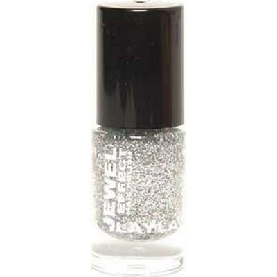 Layla Cosmetics Jewel Effect Nail Polish #01 Diamond 10ml