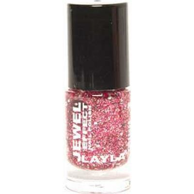 Layla Cosmetics Jewel Effect Nail Polish #03 Coral 10ml