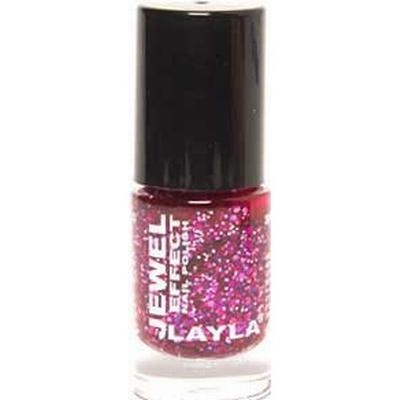 Layla Cosmetics Jewel Effect Nail Polish #05 Ruby 10ml