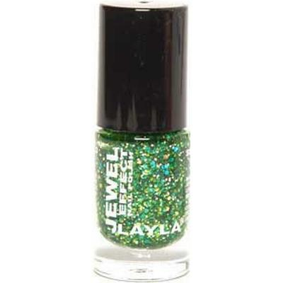 Layla Cosmetics Jewel Effect Nail Polish #07 Emerald 10ml