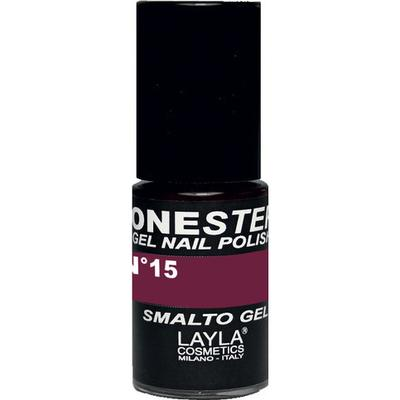 Layla Cosmetics One Step Gel Nail Polish #15 Blueberry 5ml