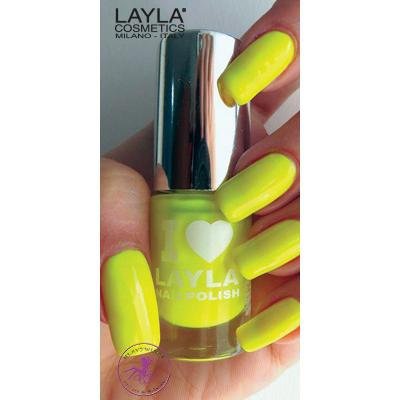 Layla Cosmetics I Love #04 Yellow Fluo 5ml