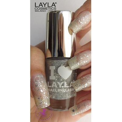 Layla Cosmetics I Love #14 Glitty Silver 5ml