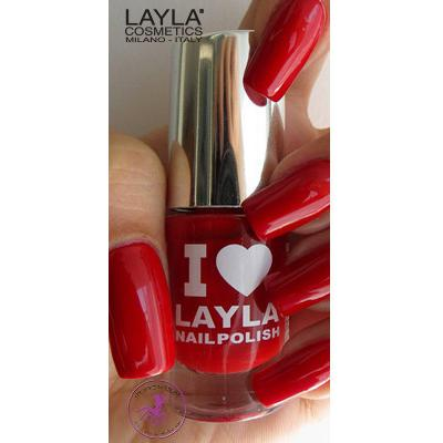 Layla Cosmetics I Love #23 Reddy Red 5ml