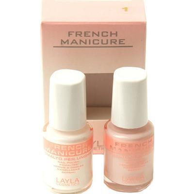 Layla Cosmetics French Manicure Kit 01 Natural