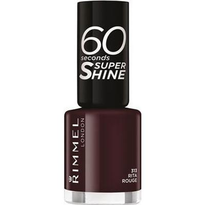 Rimmel 60 Seconds Super Shine #313 Rita Rouge 8ml
