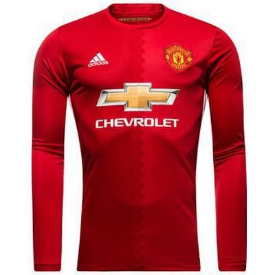 Adidas Manchester United Home LS Jersey 16/17 Youth
