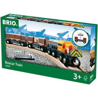 Brio Box Car Train 33567