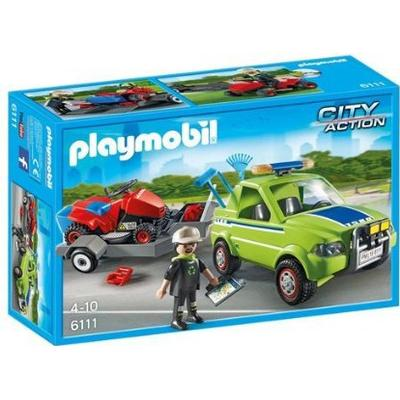 Playmobil Landscaper with Lawn Mower 6111
