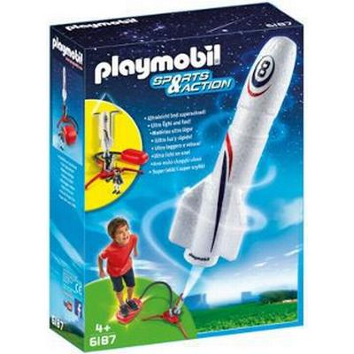 Playmobil Rocket With Launch Booster 6187