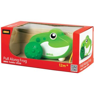 Brio Pull Along Frog 30208