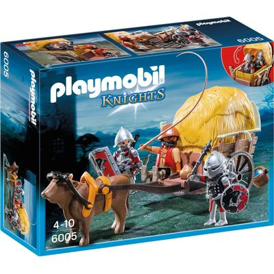 Playmobil Hawk Knight`s With Camouflage Wagon 6005