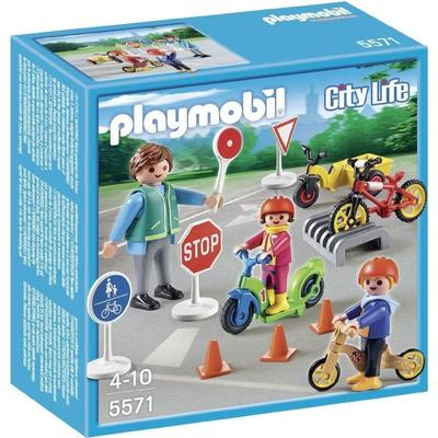 Playmobil Children With Crossing Guard 5571