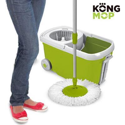 Kong Rotating Mop & Bucket on Wheels