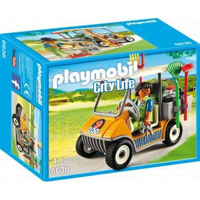 Playmobil Zookeeper's Cart 6636