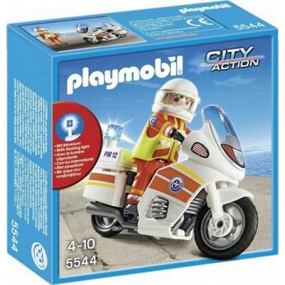 Playmobil Emergency Motorcycle With Light 5544