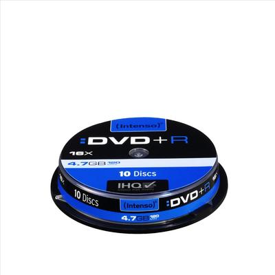 Intenso DVD+R 4.7GB 16x Slimcase 10-Pack