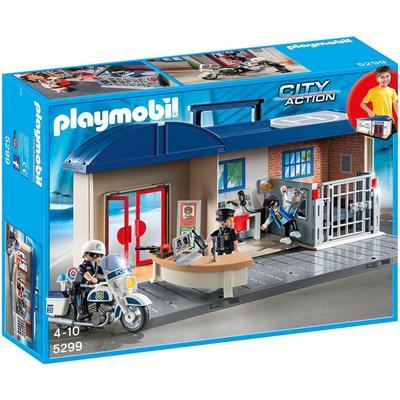Playmobil Take Along Police Station 5299