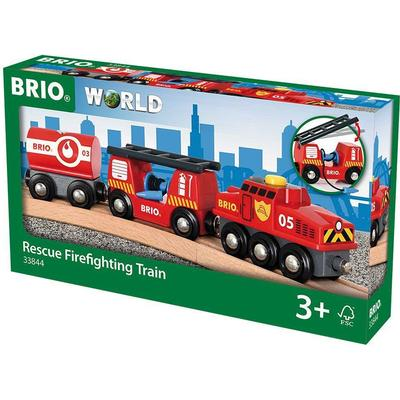 Brio Rescue Firefighting Train 33844
