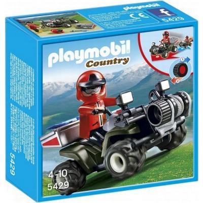 Playmobil Mountain Rescue Quad 5429