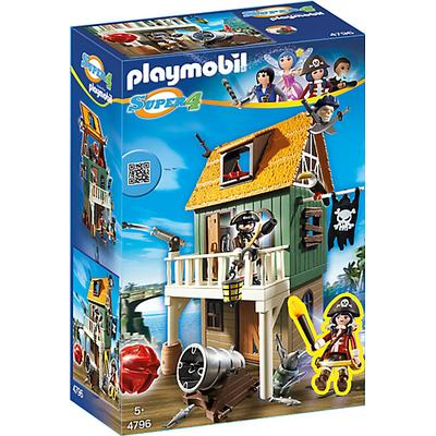 Playmobil Camouflage Pirate Fort With Ruby 4796