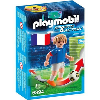Playmobil Soccer Player France 6894