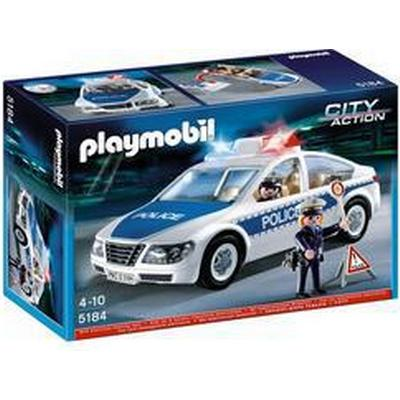 Playmobil Police Car With Flashing Light 5184