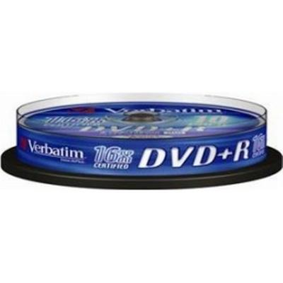 Verbatim DVD+R 4.7GB 16x Spindle 10-Pack