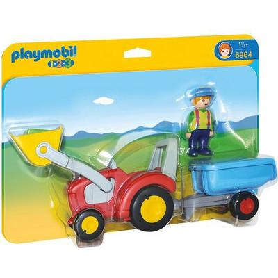 Playmobil Tractor with Trailer 6964
