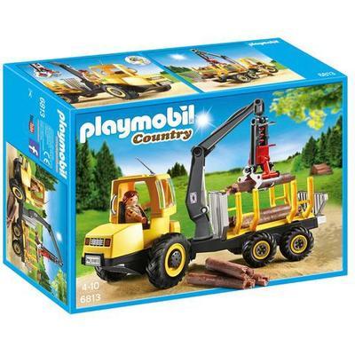 Playmobil Timber Transporter with Crane 6813
