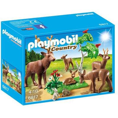 Playmobil Stag with Deer Family 6817