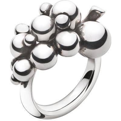 Georg Jensen Moonlight Grapes Silver Ring - S (3558680)