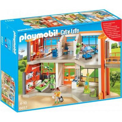 Playmobil Furnished Children's Hospital 6657