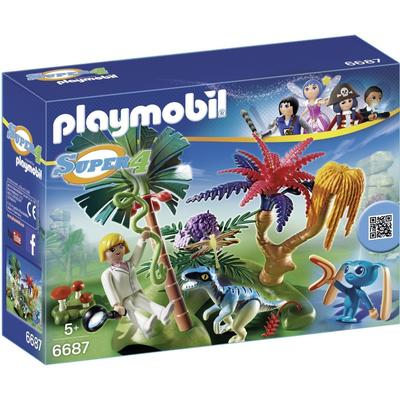 Playmobil Lost Island With Alien & Raptor 6687
