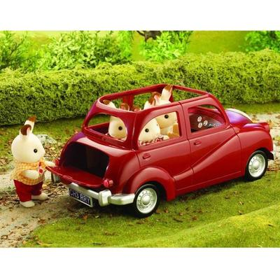 Sylvanian Families Family Saloon Car(Red Saloon Car)