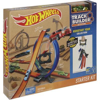 Hot Wheels Track Builder 4Lane Tower Starter Set