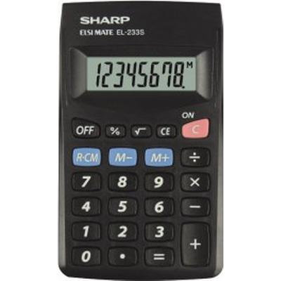 Sharp EL-233SBBK