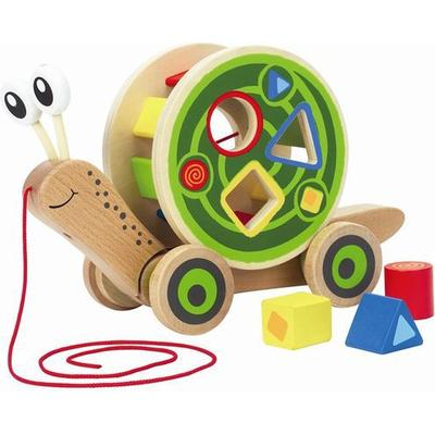 Hape Snail With Tuck Box