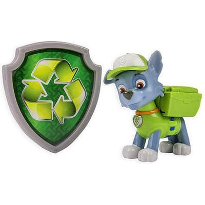 Spin Master Paw Patrol Action Pack Pup & Badge Rocky