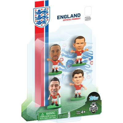 Soccerstarz England 4 Player Blister Pack A